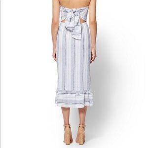 Soho Dresses - 🔥Trendy Tie Back Stripe Dress✨✨🔥🔥